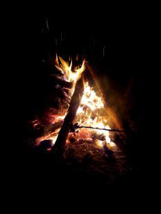 Pálení ohňů vUhlířské Lhotě 27.4.2019 2